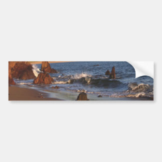 Bigbury en el mar pegatina para auto