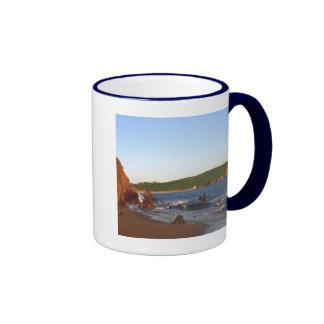 Bigbury en el mar taza de café
