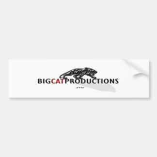 BIGCATPRODUCTIONS LOGO BUMPER STICKER