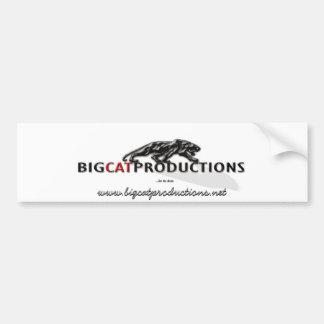 BIGCATPRODUCTIONS LOGO BUMPER STICKERS