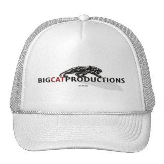 BIGCATPRODUCTIONS LOGO TRUCKER HAT