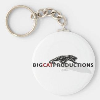 BIGCATPRODUCTIONS LOGO KEY CHAINS