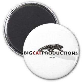 BIGCATPRODUCTIONS LOGO FRIDGE MAGNETS