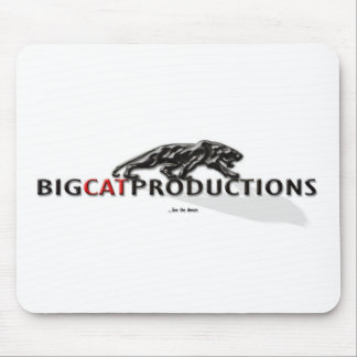 BIGCATPRODUCTIONS LOGO MOUSEPADS