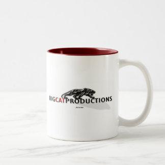 BIGCATPRODUCTIONS LOGO COFFEE MUGS