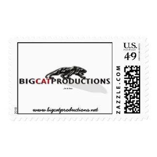 BIGCATPRODUCTIONS LOGO STAMP
