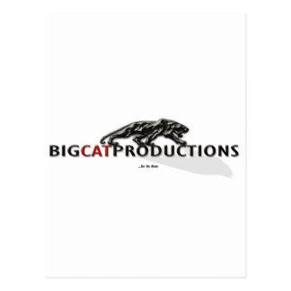 BIGCATPRODUCTIONS LOGO POST CARDS
