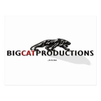 BIGCATPRODUCTIONS LOGO POSTCARDS