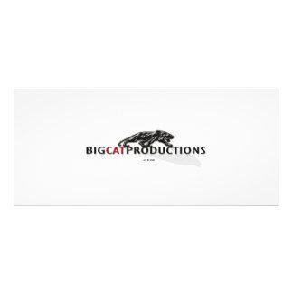 BIGCATPRODUCTIONS LOGO CUSTOM RACK CARD