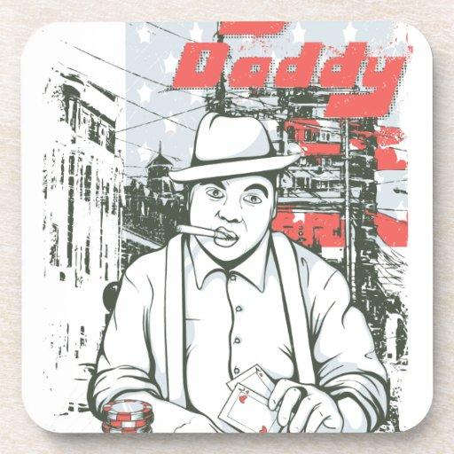 BigDaddy-587.png Beverage Coaster