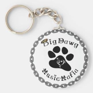 BigDawg Music Mafia Gear Keychain