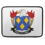 Bigelow Family Crest Sleeves For MacBook Pro