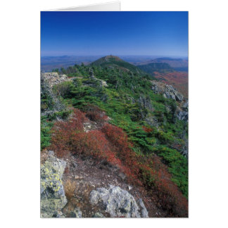 Bigelow Mountain Appalachian Trail Maine Card