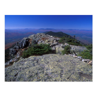 Bigelow Mountain Ridge Trail Maine Postcard
