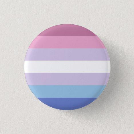 Bigender Pride Flag Badge Button