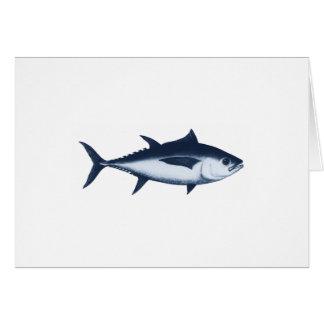 Bigeye Tuna Logo Card