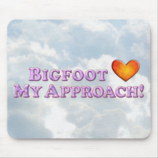 Bigfoot ama mi acercamiento - básico mousepads