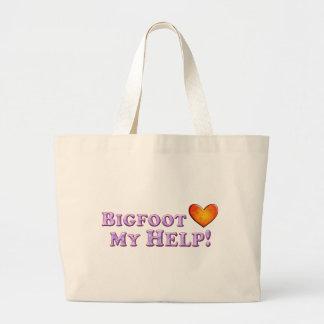 Bigfoot ama mi ayuda - básica bolsas de mano