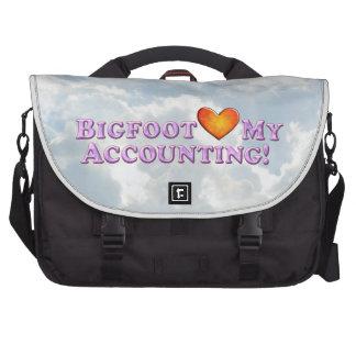 Bigfoot ama mi contabilidad - básica bolsas de portatil