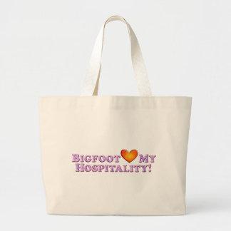 Bigfoot ama mi hospitalidad - básica bolsas