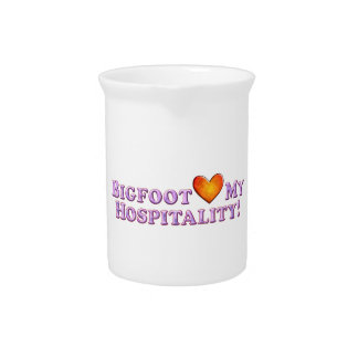 Bigfoot ama mi hospitalidad - básica jarra