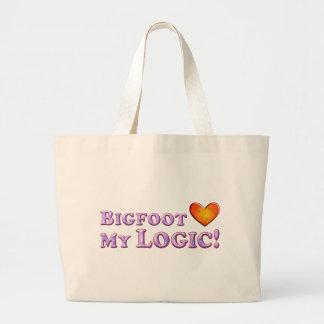 Bigfoot ama mi lógica - básica bolsa