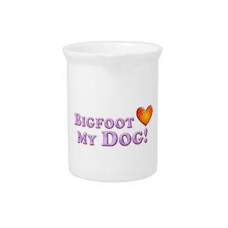 Bigfoot ama mi perro - básico jarra de beber
