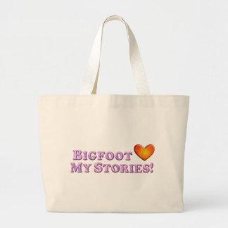 Bigfoot ama mis historias - básicas bolsa