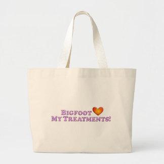 Bigfoot ama mis tratamientos - básicos bolsas de mano