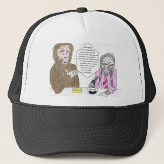 Bigfoot and Larry Trucker Hat