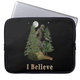 Bigfoot art computer sleeve