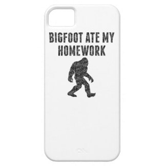 Bigfoot Ate My Homework (Distressed) iPhone 5 Covers