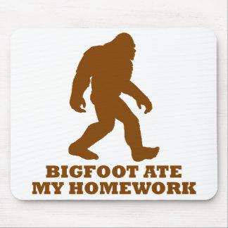 Bigfoot Ate My Homework Mousepad