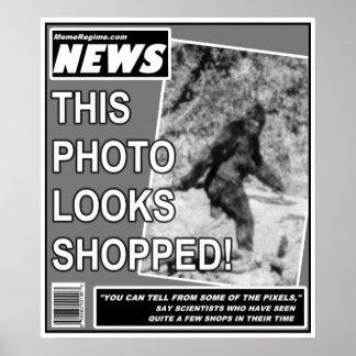 Bigfoot Bamboozlement Poster