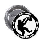 Bigfoot Basketball 2 Inch Round Button