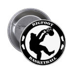Bigfoot Basketball Button