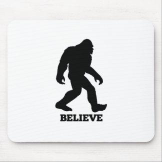Bigfoot BELIEVE Sasquatch Mouse Pad