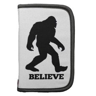 Bigfoot BELIEVE Sasquatch Planners