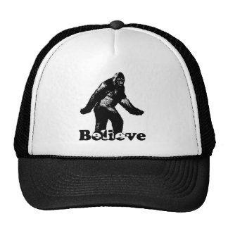 Bigfoot Believe Trucker Hat