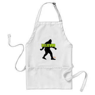 Bigfoot Believer Adult Apron