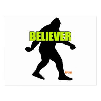 Bigfoot Believer Postcard