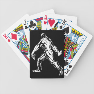 Bigfoot Bicycle Playing Cards