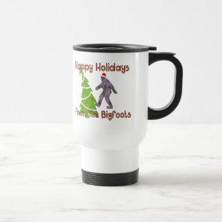 Bigfoot Christmas Mugs