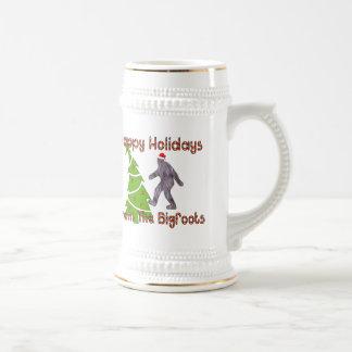 Bigfoot Christmas Coffee Mug