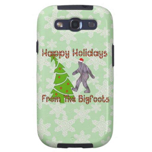 Bigfoot Christmas Samsung Galaxy S3 Covers
