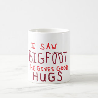 bigfoot coffee mug