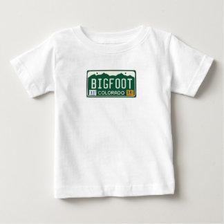 Bigfoot Colorado License Plate Baby T-Shirt