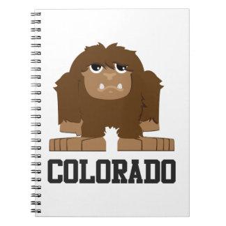Bigfoot Colorado Note Book