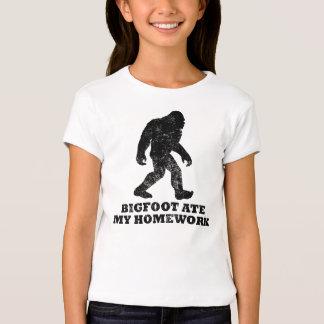 Bigfoot comió mi preparación playera