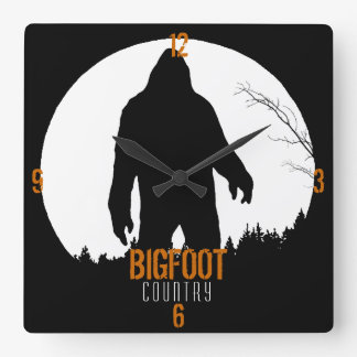 Bigfoot Country Clock